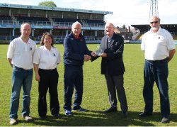 League receives Charter Standard Award